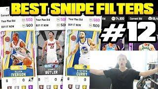 TOP 10 BEST SNIPE FILTERS TO USE RIGHT NOW IN MYTEAM MAKE TONS OF MT FAST AND EASY! NBA 2K20