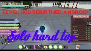 Level 1100 Angel Android Solo Hard Top | Dragon Ball Z Final Stand
