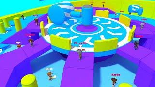Fall Dudes 3D - Gameplay Android, iOS - Fall Guys Mobile