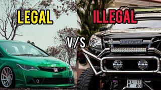Top 10: Legal & Illegal car modification in India
