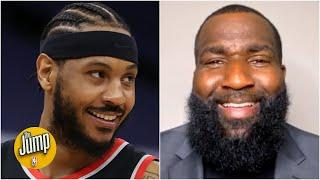 Reacting to Carmelo Anthony passing Elvin Hayes for 10th on NBA's all-time scoring list | The Jump