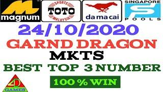 24/10/2020  MKTS  fully  NUMBER_ LUCKY NUMBER _ BEST TOP 3 NUMBER _ MALAYSIA _ SINGAPORE _ LOTTERY