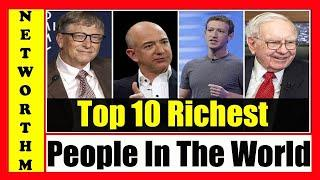 Top 10 richest people in the world -- Most richest people of the world -- SeharTube AKASHSALEEMSEHAR