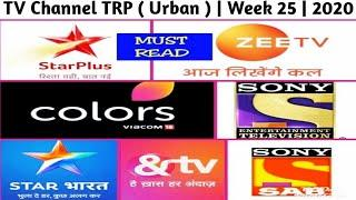 Top 10 TV Channel TRP ( Urban ) | Week 25 | 2020