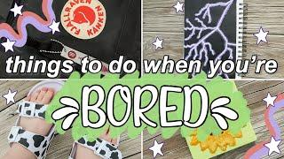 CREATIVE Things to Do When You're Bored at Home! Art/Crafts to try in Quarantine