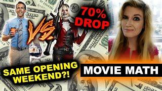 The Suicide Squad 2nd Weekend 70% Drop, Free Guy Opening Weekend