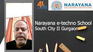 Narayana e-Techno School MG ROAD|| ONLINE LIVE CLASSES 75000 + Students || Top 10 schools in Gurgaon