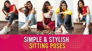 Top 5 Best sitting poses for Girls   Sitting Poses Ideas For Instagram   Being Navi   Vaishnavi Naik