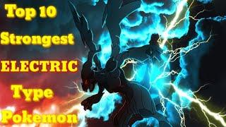 Top 10 strongest Electric type pokemon. Explained in hindi. By Toon Clash Hindi.