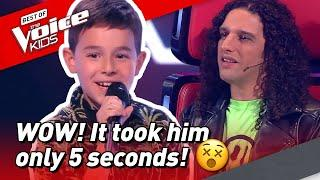 ADORABLE 10-Year-old folk singer wows the coaches in The Voice Kids!