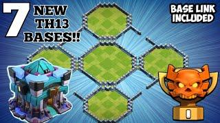 TOP 7 Town Hall 13 (TH13) WAR BASE with Links - Th13 Trophy Push Bases Link Clash of Clans 2020 #01