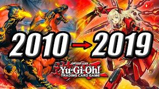 THE TOP 10 YU-GI-OH! DECKS OF THE DECADE!