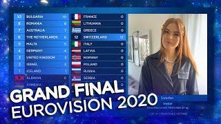 Eurovision 2020 | Grand Final & Voting | Live Stream