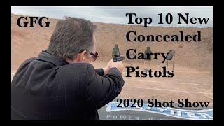 Top 10 New Concealed Carry Guns at Shot Show 2020