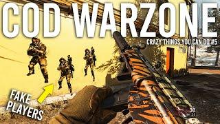 Crazy things you can do in Call of Duty Warzone #5