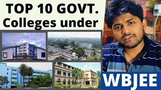 Top 10 Government Engineering colleges under WBJEE | WBJEE 2021 | Placements | Cut Offs | Fees