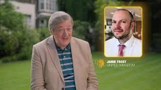 Stephen Fry announces Jamie Frost as a Top 10 finalist for the Global Teacher Prize
