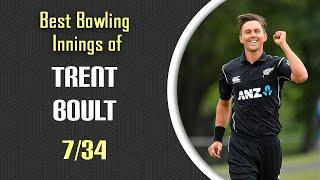 Trent Boult 10 Best Bowling Performance Ever - Best Bowling Innings of Boult - Bowling Stats