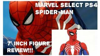 "Marvel select Spider-Man PS4 7"" inch figure review!!!"