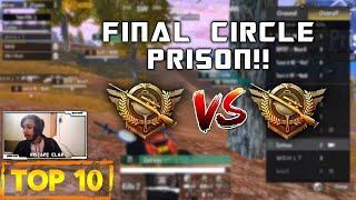 Top 10 | Prison Final Circle Highlights | Pubg custom | Custom room pubg | Pubg Tournament|Sub/share