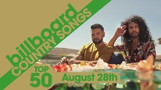 Billboard Country Songs Top 50 (August 28th, 2021)