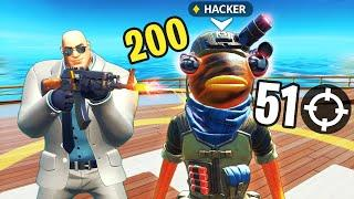 HE KILLED *OP* HACKER!! - Fortnite Funny and Daily Best Moments Ep. 1525