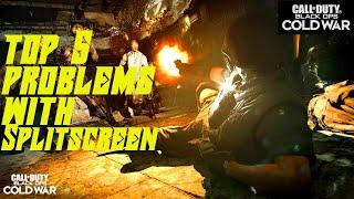Top 5 Problems with Split Screen in Call of Duty : Black Ops Cold War