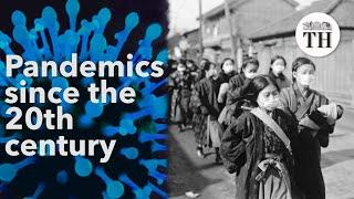 A history of pandemics since the 20th century
