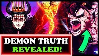 Black Clover's CRAZY Demon Secret! New Form Asta vs. Demon King Dante
