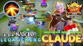 Claude Perfect Rotation with Perfect Timing! | Top 2 Global Claude by L E O K O C H E N G ~ MLBB