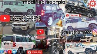 Scorpio modified/scorpio modification/scorpio alloywheels/scorpio stunts & drift/scorpio wheel light