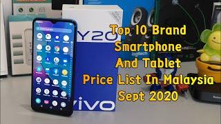 Top 10 Brand Smartphone And Tablet Price List In Malaysia Sept 2020