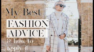 THE BEST FASHION ADVICE OF ALL TIME  // & How to ACTUALLY Use It!!  // Fashion Mumblr