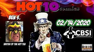 CBSI Hot 10 Comics List. The Top Ten Comic Books This Week Comic Book Speculation and Investing 2/14