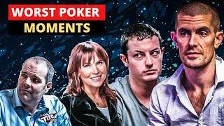 10 WORST POKER MOMENTS OF THE DECADE
