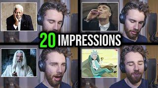 ONE GUY, 20 VOICES (LOTR, Peaky Blinders, GoT, Marvel & MORE impressions!)