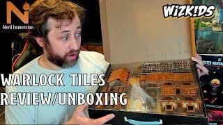 Wizkids Warlock Tiles Review/Unboxing | Nerd Immersion