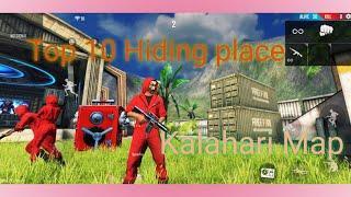 Top 10 hiding place in Kalahari