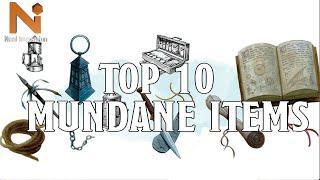 Top 10 D&D 5e Mundane Items | Nerd Immersion