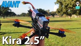 """Avantquads Kira 2.5"""" Top Quality Micro Racer - Overview & Flight Footage"""