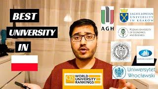 TOP 10 University in Poland for Guaranteed Visa | Study in Poland