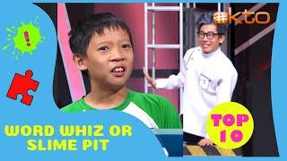 Word Whiz or Slime Pit | Even More Top 10 Times Slime Moments!