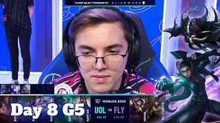 UOL vs FLY | Day 8 Group D S10 LoL Worlds 2020 | Unicorns of Love vs FlyQuest - Groups full game