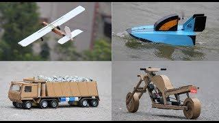 4 Amazing DIY TOYs   Awesome Ideas - 4 Things you can do it