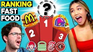 Top 10 Fast Food Restaurants   Ranked By Teens