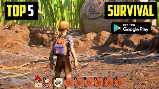 Top 5 Best OPEN WORLD SURVIVAL Games for Android in 2020 | Ultra High Graphics (Online/Offline)