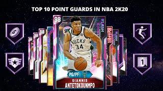 TOP 10 POINT GUARDS IN NBA 2K20 MYTEAM!