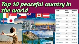 Top 10 most peaceful country in the world
