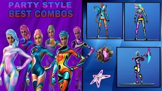 BEST STAR STYLE SKIN COMBOS   Nightlife, Party Diva, Party MVP & Party Star Combos (All Styles)