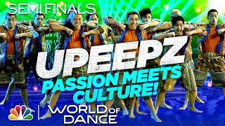 "UPeepz Dances to ""Bebot"" by Black Eyed Peas - World of Dance The Semi-Finals 2020"